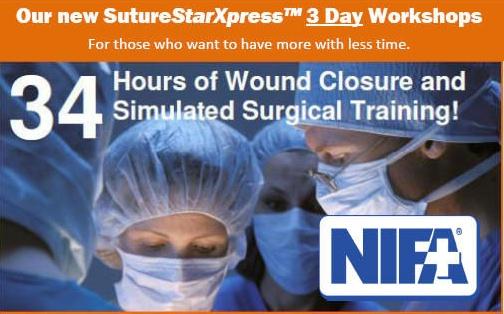 SutureStarXpress 3 Day Workshop