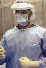 Surgical Tech Robert in Surgery